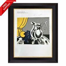 Roy Lichtenstein - Still Life with Silver, Original Hand Signed Print with COA