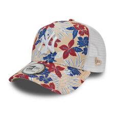 New Era Kinder Trucker Cap - New York Yankees floral beige