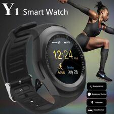 Reloj inteligente Bluetooth Y1 Táctil Reloj pulsera smartwatch para Android IOS