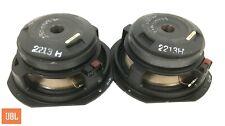 "JBL 2123H Midrange 10"" 8-ohm 250W Speakers PAIR - Tested - DCR's: 4.6 / 4.8"