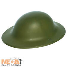 Army Helmet Adults Fancy Dress WW2 Military Tommy Brodie Adult Costume Accessory