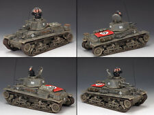 King & Country WS259 Classic German Panzer 35 Tank NIB