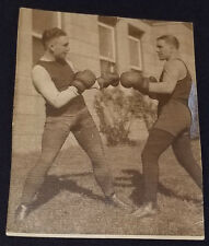 "1920's - LEO ""KID"" ROY and EUGENE DEMERS - BOXING / BOXER - PHOTO - ORIGINAL"