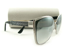 d3771a378262 Jimmy Choo Sunglasses MATY S Silver Black 1B0FU New Authentic