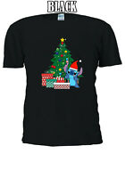 Disney Stitch with Santa Hat Christmas best gift T-shirt  Men Women Unisex V112