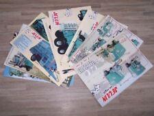 Lot de 10 Prospectus/Brochure/Prospekt agricoles/tracteurs JEULIN (492)