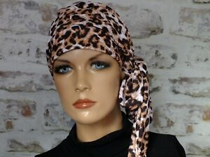 Cotton Jersey Hat, with scarf. full lining.Head wear for Hair Loss.Cancer,Chemo,