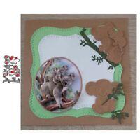 Stanzschablone Faultier Hochzeit Weihnachten Oster Geburtstag Karte Album DIY
