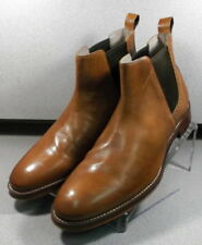 592070 PFBT40 Men's Shoes Size 10.5 M Tan Leather Boots Johnston & Murphy