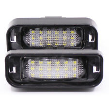 Error Free LED License Plate Light for Mercedes Benz W220 S320 S420 S430 99-05