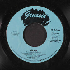 GENESIS: Mama / Same 45 (dj) Rock & Pop