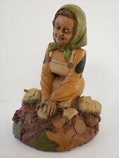 Ava, gnome women working in the garden-Cairn Studio #2041 by Tom Clark