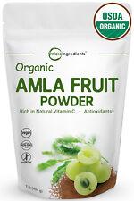 Premium Organic Amla Fruit Powder 1 Pound Natural Vitamin C