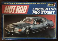 Nhra Revell Hot Rod Lincolin Lsc Pro Street Model Kit Open Complete Check It Out