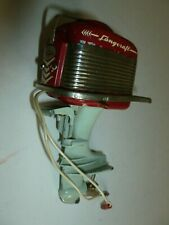 LANG CRAFT ''MERCURY'' OUTBOARD LANGCRAFT TOY TIN 1950s ELECTRIC BATTERY JAPAN