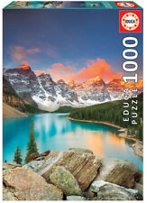 Educa 1000pc Jigsaw Puzzle - Moraine Lake Banff National Park Canada