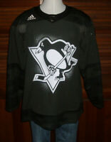 Adidas Military Salute Pittsburgh Penguins  Hockey Jersey Size 52