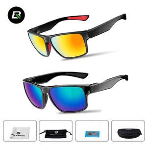 ROCKBROS Cycling Polarized Full Frame Sports Bike Sunglasses Glasses UK 2colors