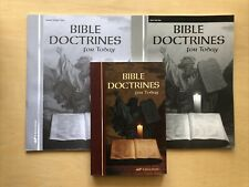 A Beka BIBLE DOCTRINES FOR TODAY student textbook/quiz homeschooling lot 10th gr