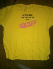Xxl Sex Pistols never mind the bollocks T-Shirt anarchy  sid vicious damned