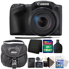 Canon PowerShot SX420 IS 20MP Digital Camera with 8GB Professional Accessory Kit
