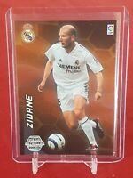 Zinedine Zidane Real Madrid Megacracks Mega Estrellas 2004/05 Panini Foil Card