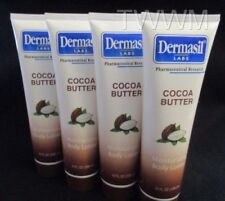 """Dermasil Labs """"COCOA BUTTER"""" Moisturizing Body Lotion{LOT  OF 4 *X-LARGE* TUBES}"""