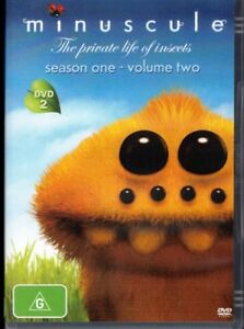 MINUSCULE The Private Life Of Insects DVD Season 1, Volume 2 NEW & SEALED