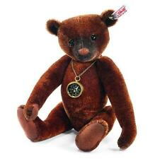 NEW STEIFF NANDO TEDDY BEAR with COMPASS LTD Jointed Paradise Jungle Gift 035166