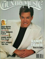 Country Music Magazine May 1991 - Randy Travis - Dolly Parton Poster - No ML EX