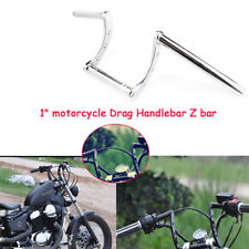Motorcycle 1'' Handle Z-Bar Handlebar Universal For Motorcycle 1inch Scooter