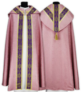 Rose Semi Gothic Cope with matching stole KY113-R25 us