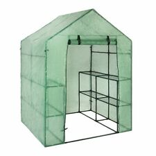 Portable Garden Greenhouse Cover Outdoor House Shed Storage Protective Plastic