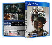 Call of Duty Black Ops - Cold War - ReplacementPS4 Cover and Case. NO GAME!!