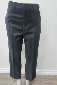NWT Haggar Premium 100% Wool Imperial Mens Dress Pants Slacks Size 34 x 34