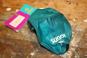 Vintage NOS Sugoi Helmet Cover. Hi Vis Reflective!