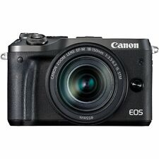 Fotocamera Digitale Mirrorless Canon EOS M6 18-150mm IS (Gar. Italia 2 anni) BLK
