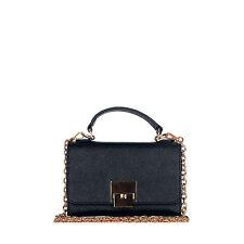 Rouven/Pelle Mini Borsa Portafoglio/Liva 18 SMARTPHONE Bag/Nero