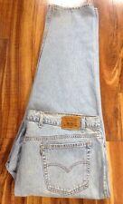Htf ! Vintage LEVI'S 540 Bequemer Braun Tab Jeans 50X30 Gratis Priorität