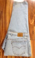 Htf ! Vintage LEVI'S 540 Relajado Marrón Tab Jeans 50X30 Gratis Prioridad