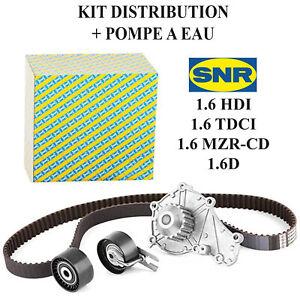 Kit Distribution Pompe a Eau pour 1,6 HDI TDCI 1,6D 1609417680 1609525680 0831V4
