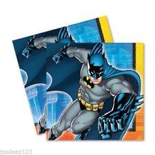 Decoración y menaje para mesas de fiesta de Batman