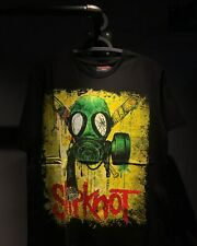 SLIPKNOT Gas Mask Black T-Shirt New & Official Size S-3XL FREE SHIPPING !!!