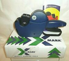 Xmark Lmi 2 line labeler with 8 characters top, 6 lower. 2Ln 21-86, works great