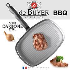 De Buyer Grillpfanne 5540.38 Carbone plus 38 Cm