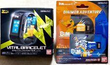 Vital Breath Digital Monster ver. BLACK Digimon Bracelet Bandai Japan w/Dim card