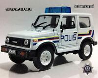 Suzuki Jimny Samurai Malaysian Police 1969 Year 1/43 Scale Diecast Model Car