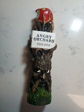 Angry Orchard Crisp Apple Tap Handle -Big Style 12 Inches Used
