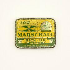 GRAMOPHONE NEEDLE TIN - Marschall - Pick-Up Needles (100) [NEEDLE TIN]