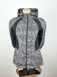 Lululemon Back Pack It Jacket Animal Print Sz 6 Lightweight Hooded Rare Women's